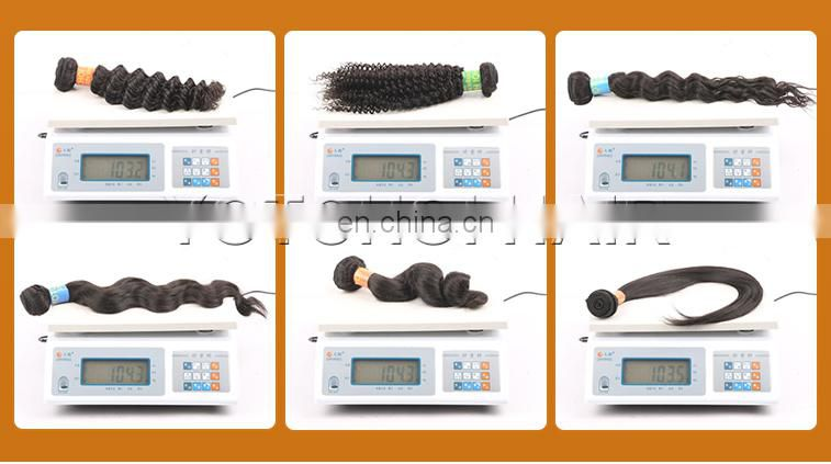Factory Price Tangle And Shedding Free Ebony Hair South Africa