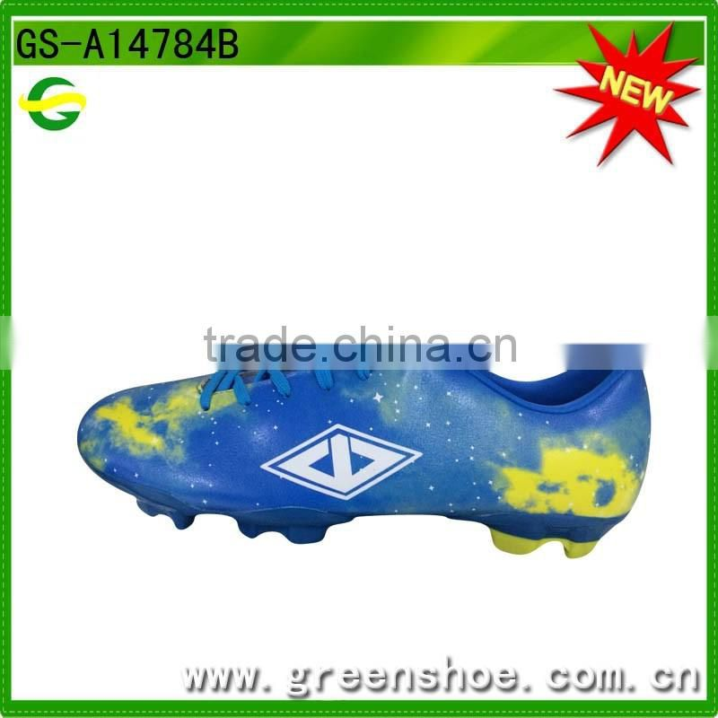 Famous outdoor soccer shoes high quality professional football shoes custom made soccer shoes