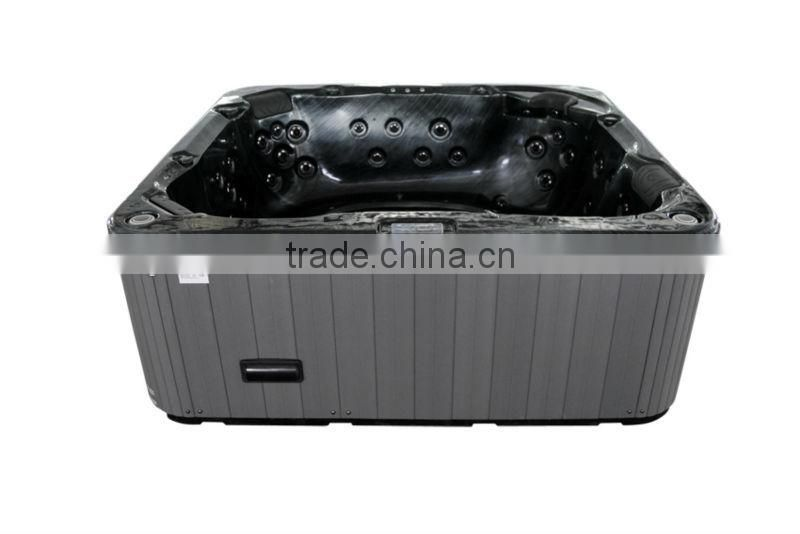 A860 Balck Massage Whirlpools and Bathtub for 7 ~ 8 Person