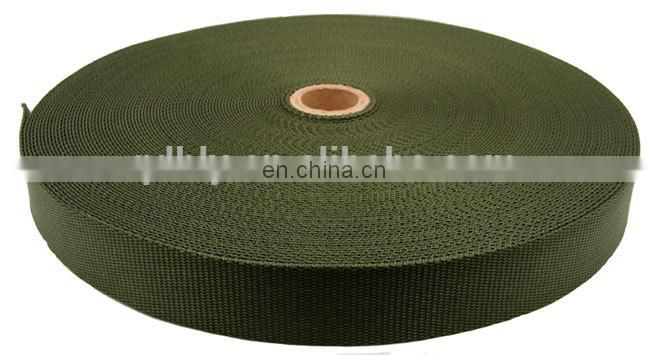 high quality strong polyester flat woven webbing slings