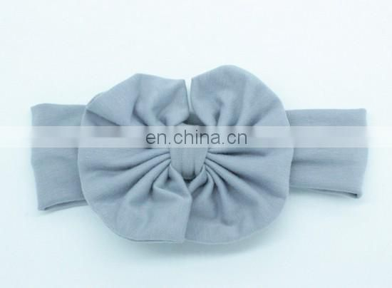 Messy Bow Headband Baby Elastic Wide Headband Toddler Turban Headwraps For Baby Birthday Gift
