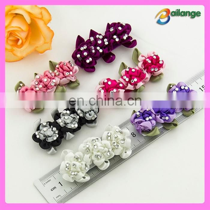 hotfix rhinestone flower trims Shoes decoration DIY accessories