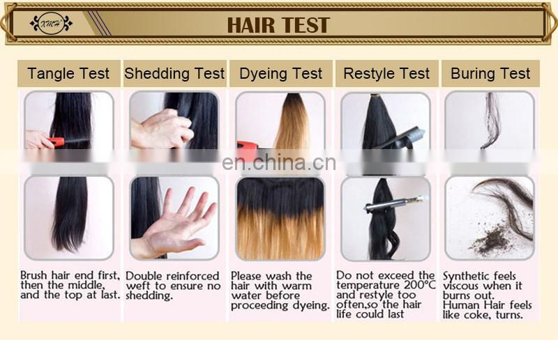 Factory Wholesale Cheap Short Human Hair Virgin Brazilian Ombre Hair Weave