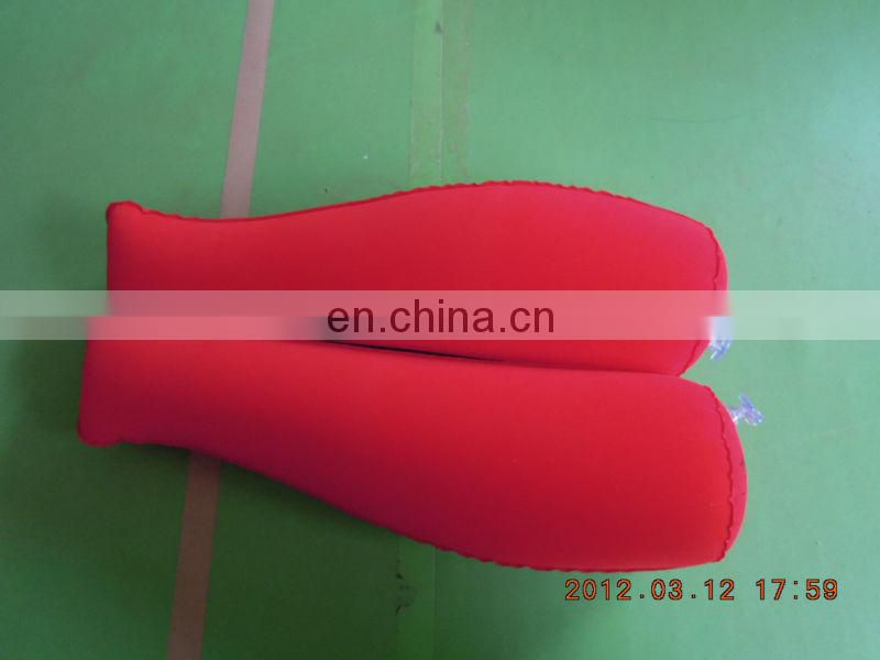 High quality flocking PVC inflatable shoe holder for promotion