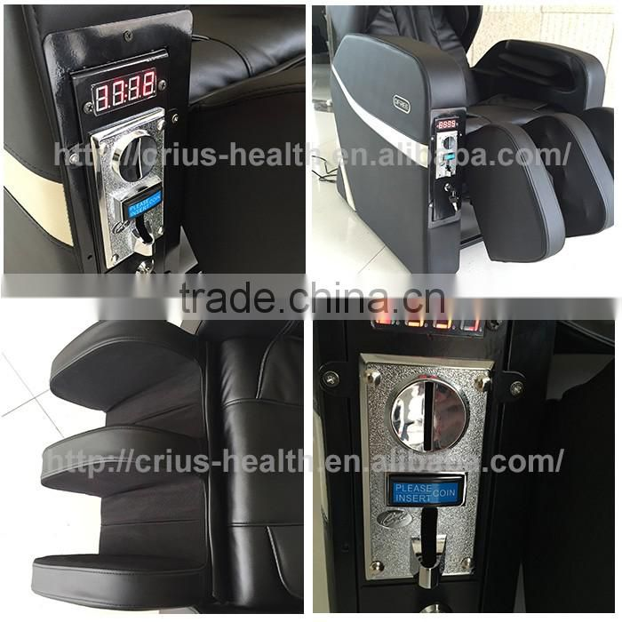 Health care and foot relax appliance massage coin mechanism for ticket vending machine