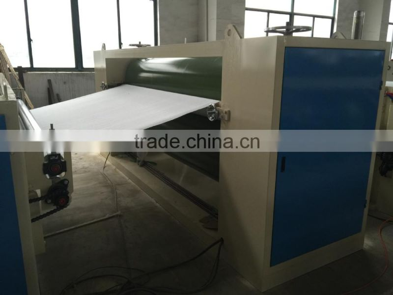 Calendering Polyester nonwoven hollow wadding machine