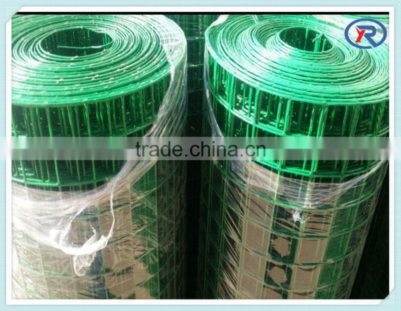 trade assurance PVC coated welded wire mesh fence from china