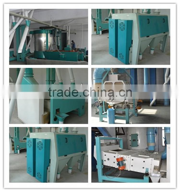 China manufacturer of complete set of automatic posho mill