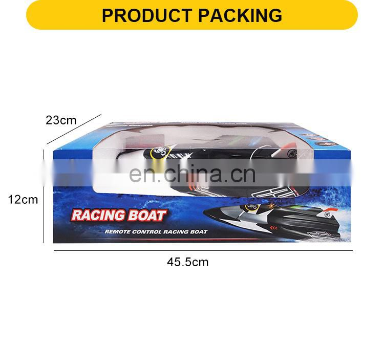 adults fast Speed 3 channels remote control toys fishing boat rc