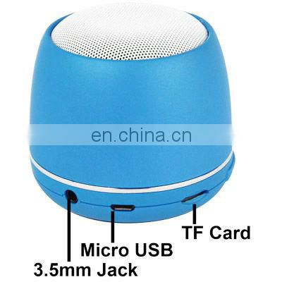 Hot sale mini Portable Speaker, Built-in Rechargeable Lithium Battery & Microphone