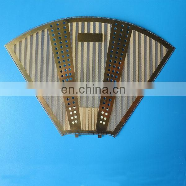 Food grade etching stainless steel mesh coffee filter mesh
