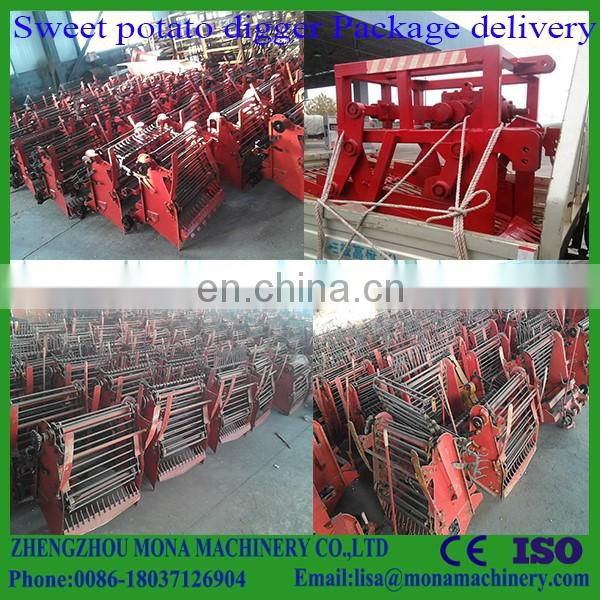 Agricultural machinery peanut/ cassava harvester, single-row potato harvester machine for sale