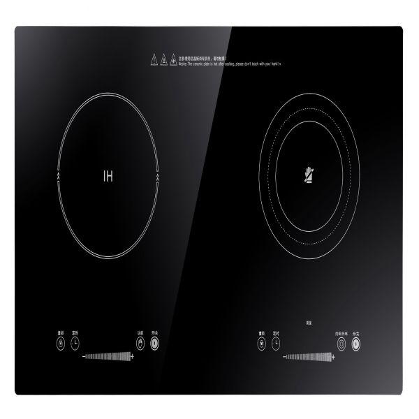 4500W Black Crystal Plate Commercial Induction Cooker Image
