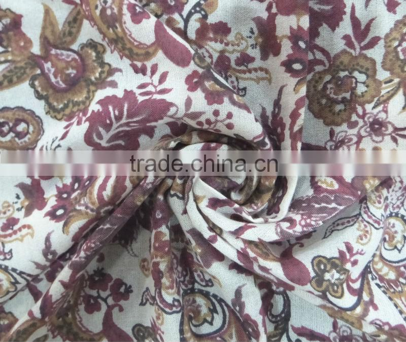 Fashion Modal Print Scarf