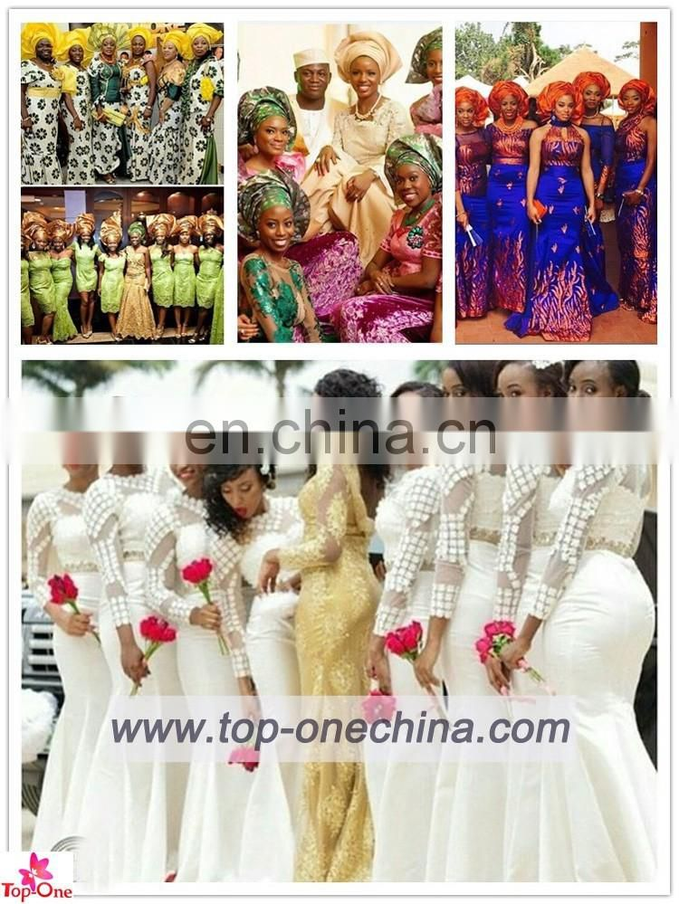 2016 china supplier african embroidered tulle fabric /african beaded tulle lace fabric for wedding dress