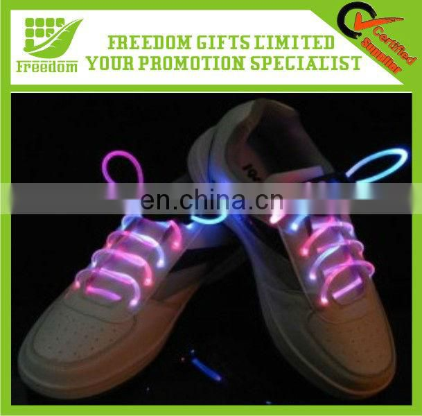 Promotional Customized Colorful LED Flashing Shoelace
