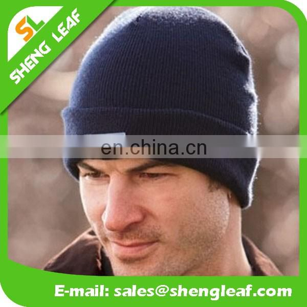 2016 hot sale of LED knitted hat for winter