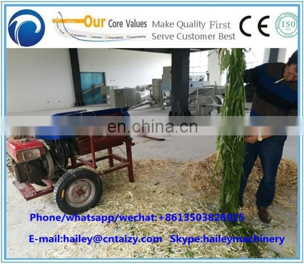 Jute fiber spinning machine sisal fiber strip peeling machine