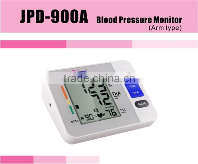 Arm type blood testing equipment blood pressure monitor good as high blood pressure monitor made in japan