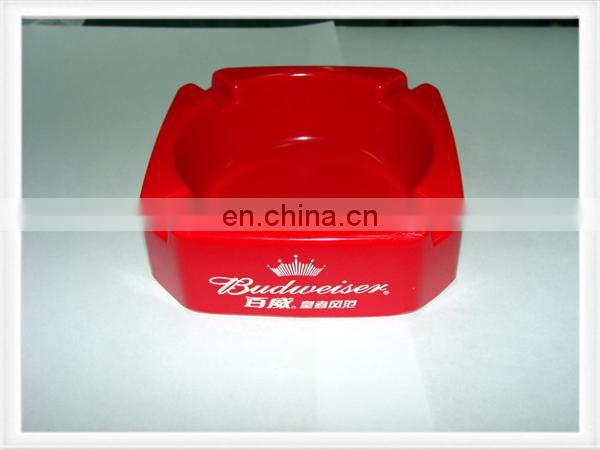 Portable ashtray pocket ashtray plastic ashtray in idea shape custom color
