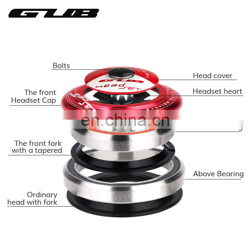 Gub G-800 Threadless Headset Mountain Road Bicycle Taper Hidden HeadSet