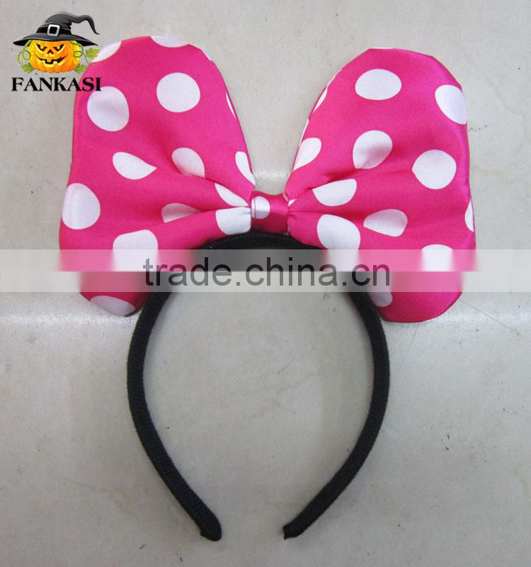 Wholesale Hair Accessories Mickey Mouse Ear Minnie Mouse Headband