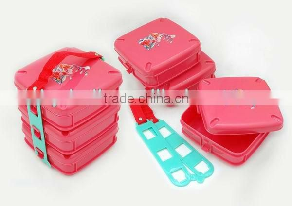 2016 kitchen plastic utensil set,portable food container