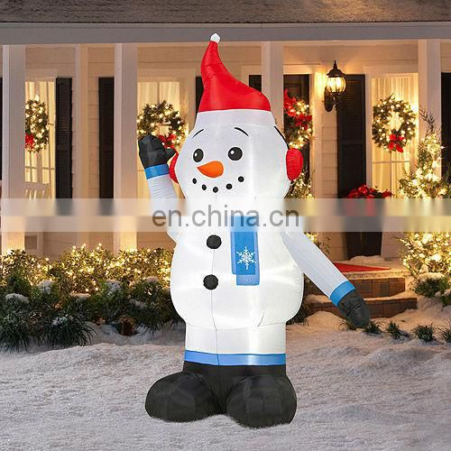 Top-selling Inflatable Christmas snowman for family decoration