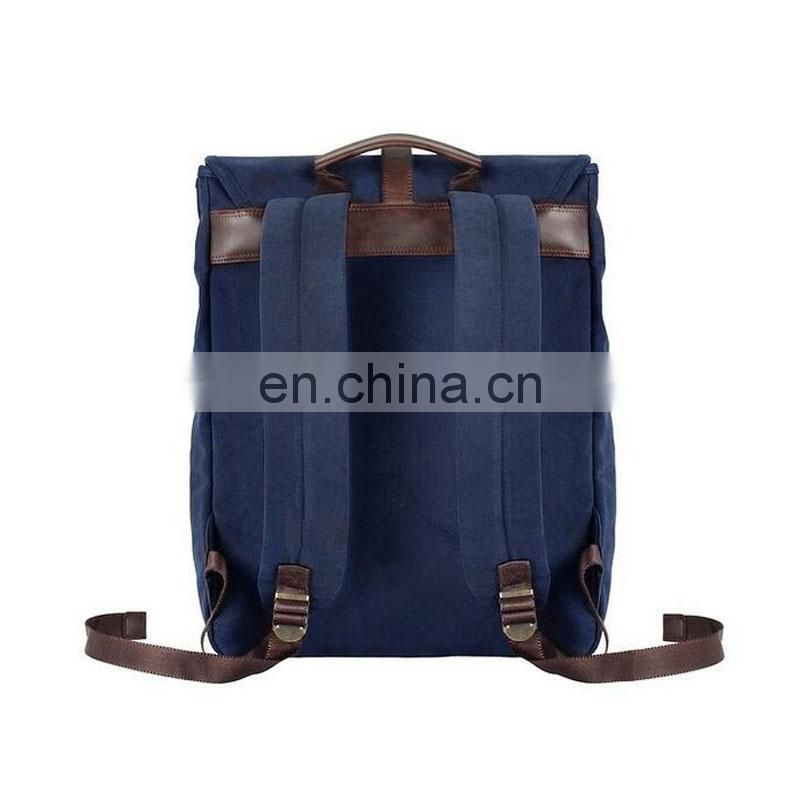 Canvas backpack with nice design