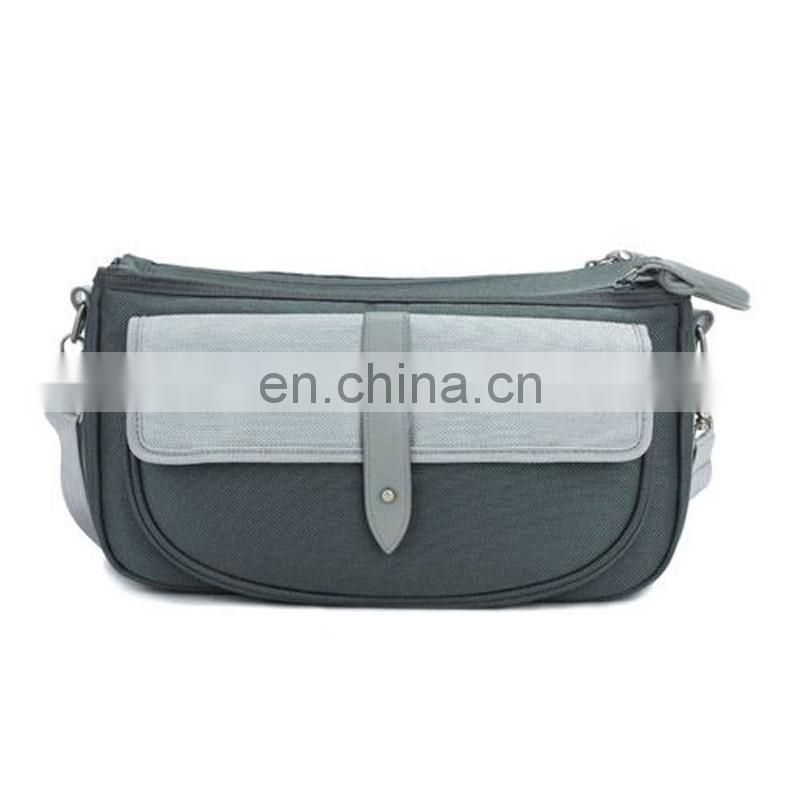 Zipper compartments unique camera bags with pockets
