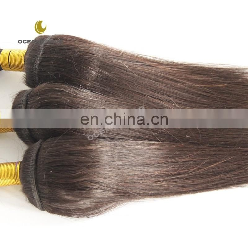 Luxury high quality best grade thick soft mink brazilian hair braid in bundles no glue no thread no clips
