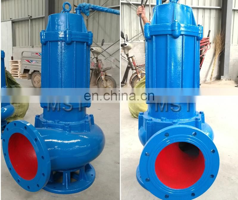 High temperature submersible sewage pump