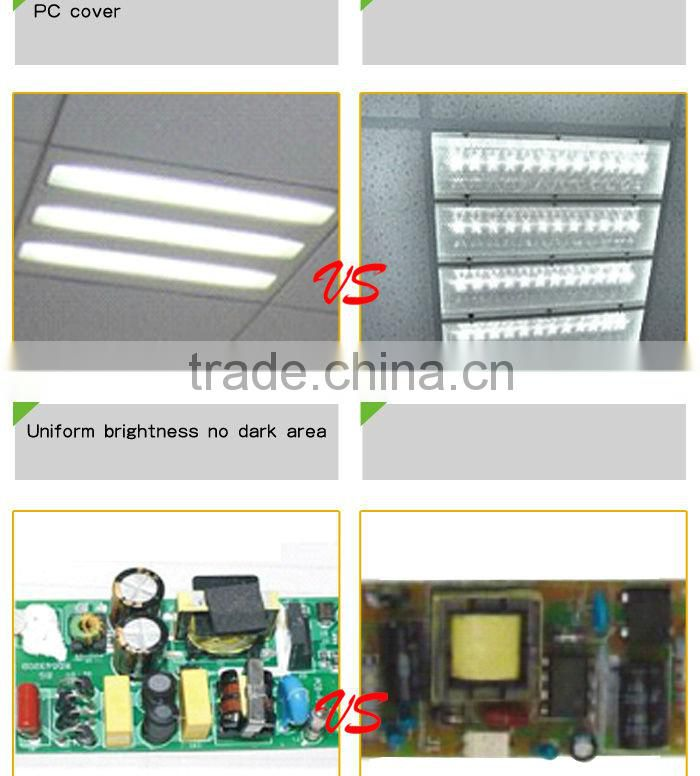 CE ROHS commercial recessed integrated 60x60 led bbq grill light