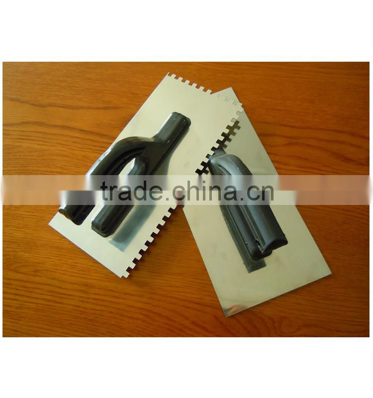 6'' finished surface bricklaying trowel