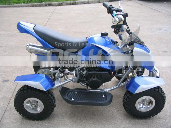 Christmas Gifts 49cc Quad Wheel Suspension