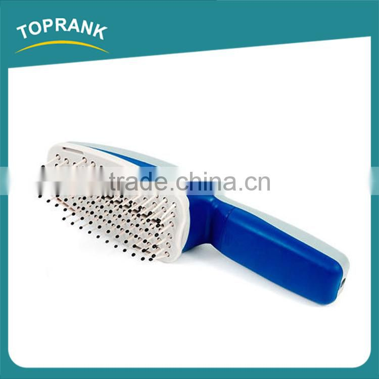 Hot selling as seen on tv dog comb ionic pet grooming brush