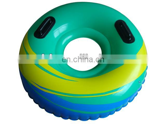 eco-friendly pvc kid inflatable swim ring tube with customize logo