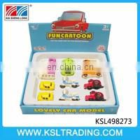 1:36 pull back metal car model toy with light and music