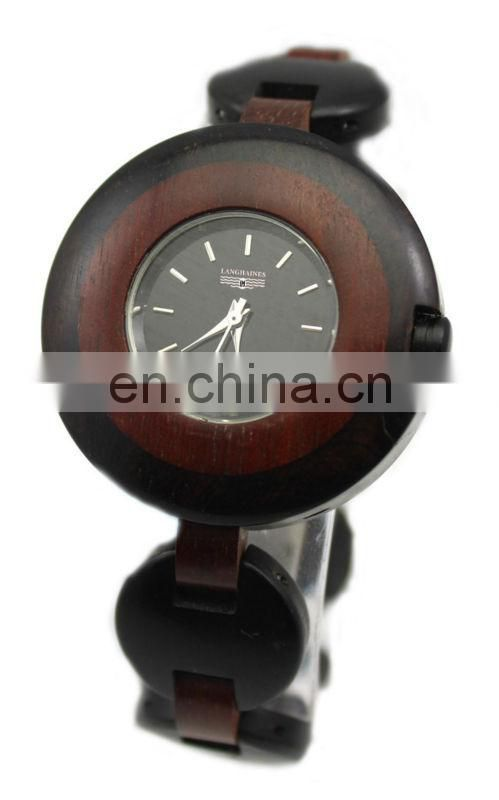 fashion unisex wooden watch