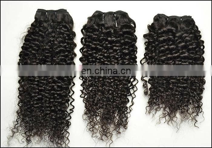 Human Hair Bulk Buy From China Tight Curl Peruvian Virgin Hair