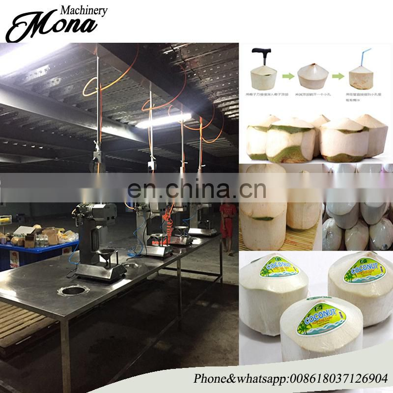 New stainless steel Green Coconut Fruit Peeling Machine /young fresh coconut peeling machine Image