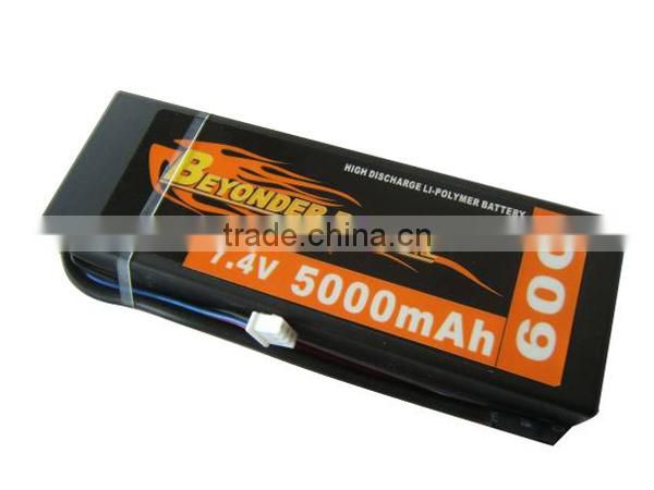 Hangzhou manufacturer hard case phantom 2 vision 11.1v 5200mah 45c rc lipo battery pack for airplane/car/toy