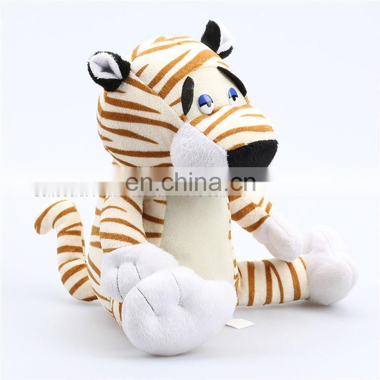 China manufacturer lifelike custom plush toys tiger