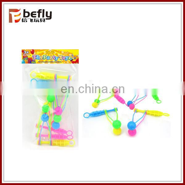 Mini transparent helicopter pull line gift toys for children