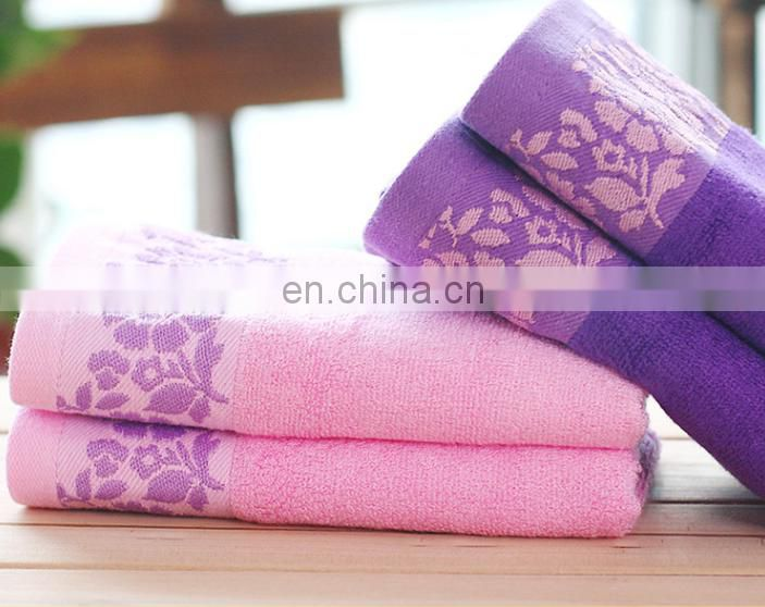 China factory wholesale soft bamboo fiber hand towels