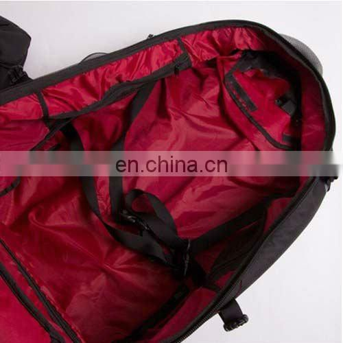 hot sell time traveller red 60L trolley backpack