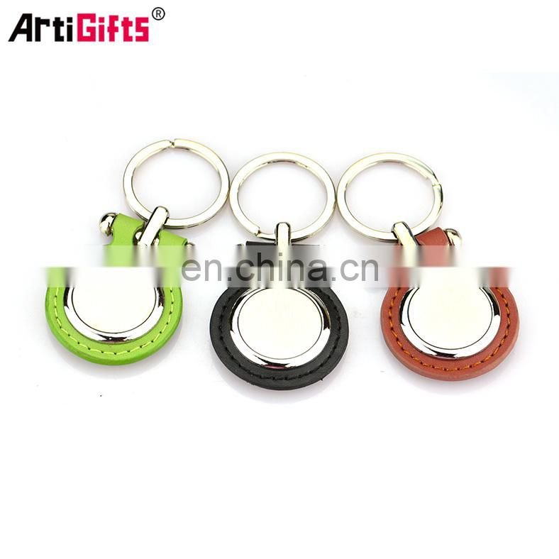 Keychain Maker Handmade Cheap Custom Car Leather Keychain Wholesale