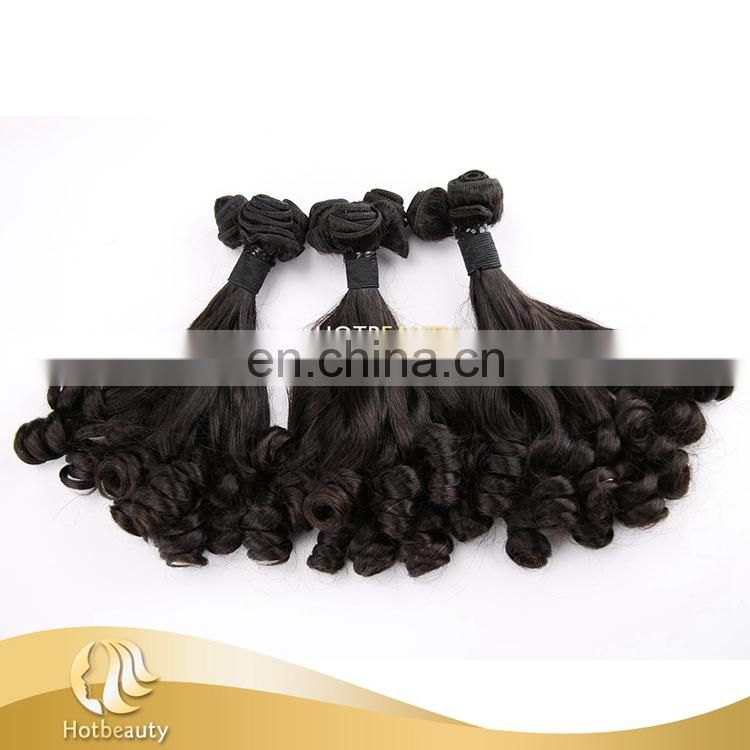 Wholesale Double Drawn New Style Arrival virgin rose curl hair