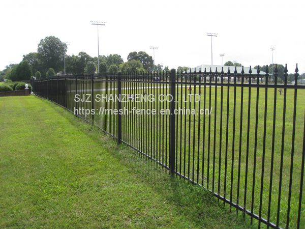 Wrought iron fence/decorative fence/ornamental fence/ steel fence Image
