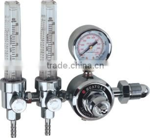 CO2/ARGON adjustable gas pressure regulator for welding machine